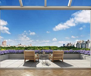 Penthouse cu priveliste la Central Park, New York