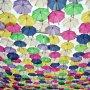 Un festival al umbrelelor in poze multicolore