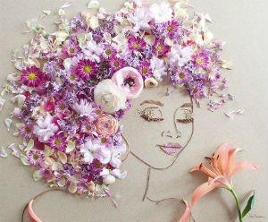 Portrete florale, din sanul Mamei Natura