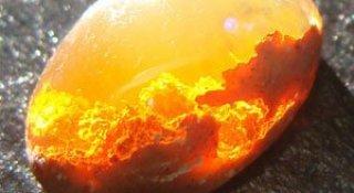 Opalul in care arde un foc fascinant