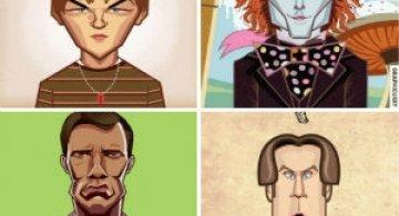 10 Giganti de la Hollywood in gif-uri animate