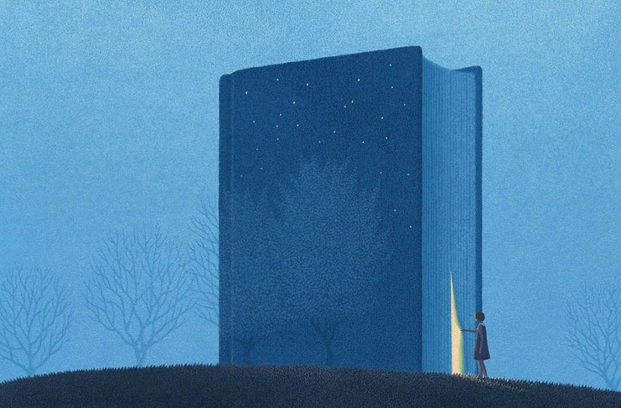 Capodopere literare, in ilustratii suprarealiste - Poza 1