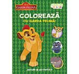 Disney. Garda felina. coloreaza cu garda felina. Aventuri in culori