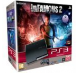 Consola Sony PlayStation 3 Slim (320GB) + joc Infamous 2 (PS3)