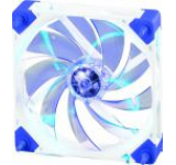 Ventilator Super Flower SF-F101-W-BL-BD (LED albastru, rama alba)