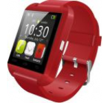 Smartwatch iUni U8+, Capacitive touchscreen, Bluetooth, Bratara silicon (Rosu)