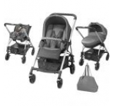 Carucior copii 3in1 Bebe Confort Trio Streety Next 19478960 (Gri)