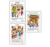 Set 3 carti uriase pentru clasa I - semestrul al II-lea ( Prietenia Ce miros au meseriile Copilaria )