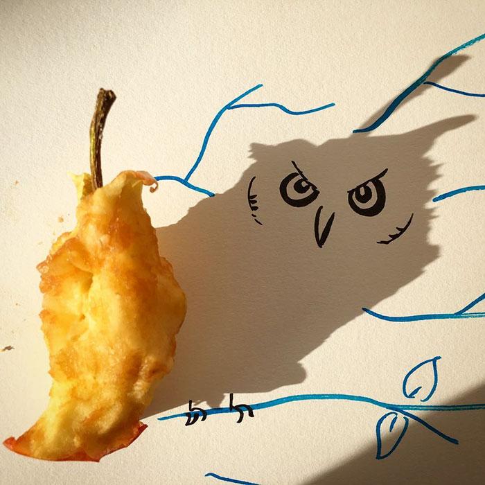 15+ Ilustratii haioase cu umbre - Poza 7