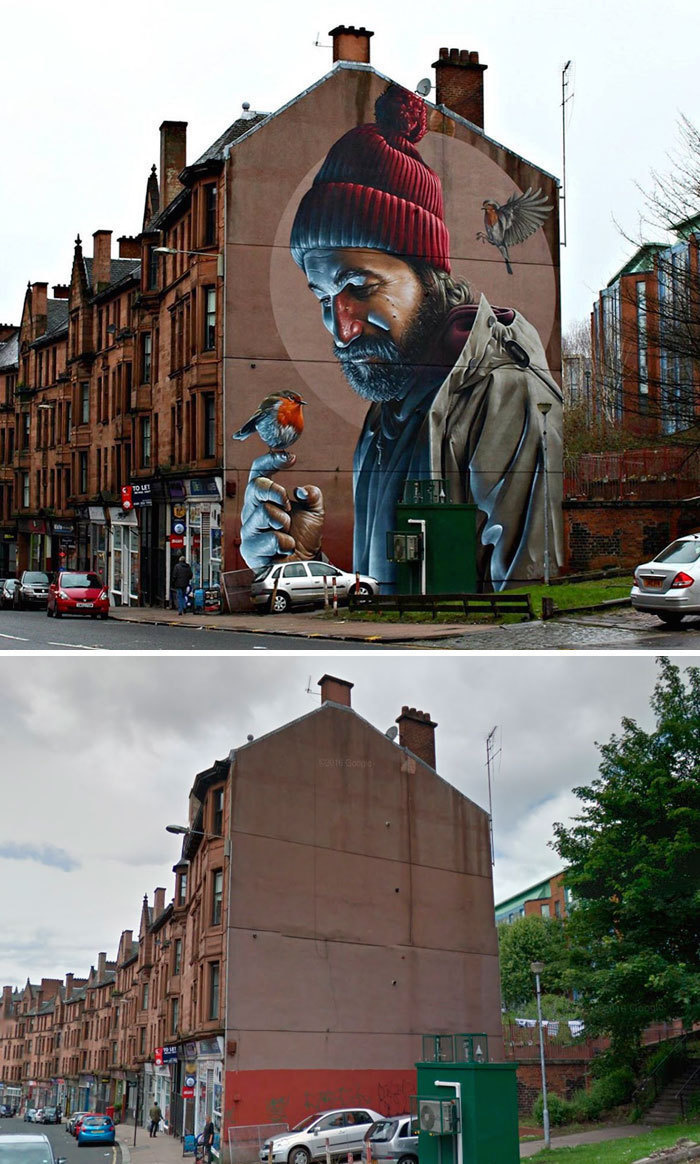 Arta stradala: Cele mai frumoase picturi pe cladiri - Poza 15