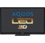 Televizor LED Sharp 177 cm (70inch) LC70LE747E, Full HD, 3D, Smart TV, 100 Hz, Dolby Digital Plus