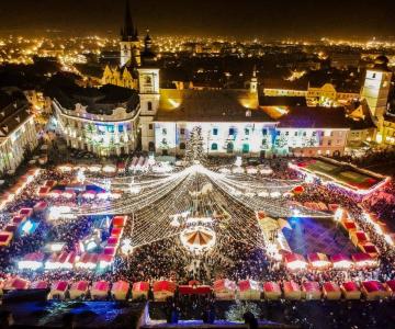Targul de Craciun din Sibiu: Povestile devin realitate in Piata Mare