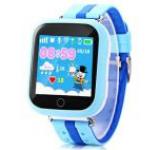 Smartwatch iUni Kid601, LCD 1.54inch, 2G, GPS, Bratara silicon, Jocuri, dedicat pentru copii (Albastru)