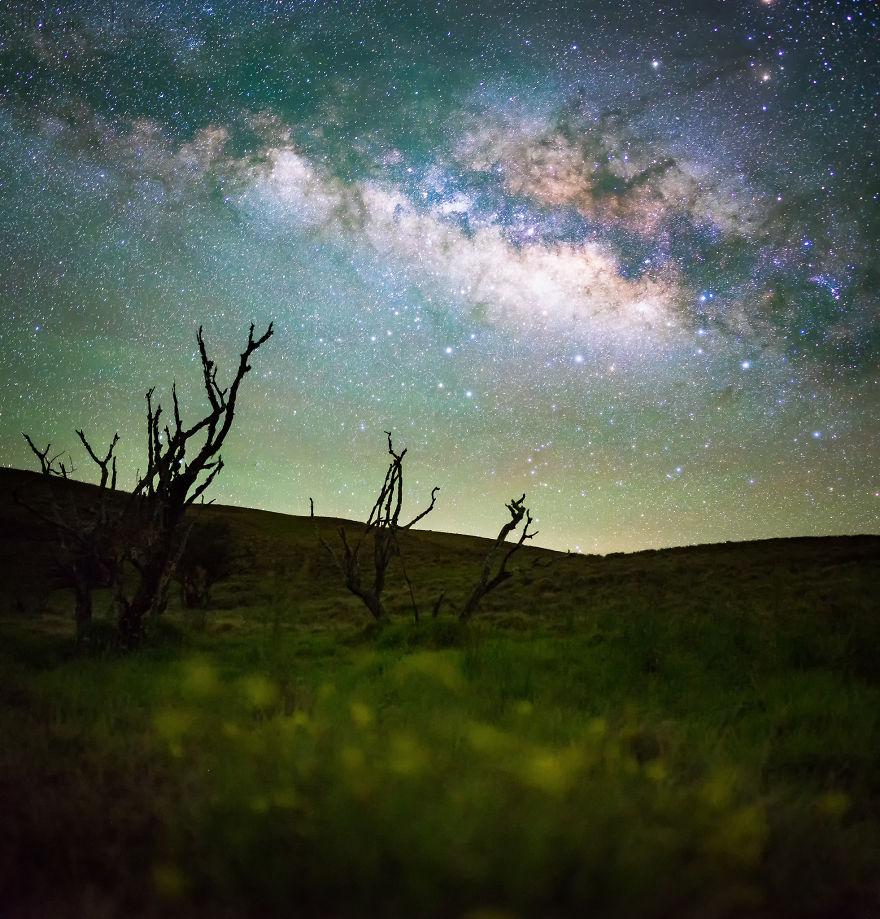 Lumina noptii: Un dans al Caii Lactee, in miezul verii - Poza 7