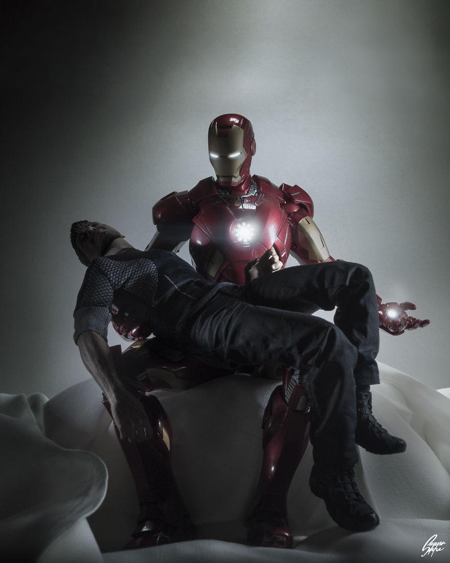 Istoria artei cu supereroi Marvel - Poza 9