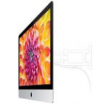 Apple iMac (Intel Core i5, 2.7GHz, Quad-Core, Haswell, 21.5inchFHD, 8GB, 1TB, Intel Iris Pro, Mac OS X Mountain Lion, Adaptor VESA integrat, Fara Stand)