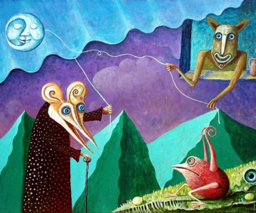 Picturi suprarealiste de Leszek Andrzej Kostuj