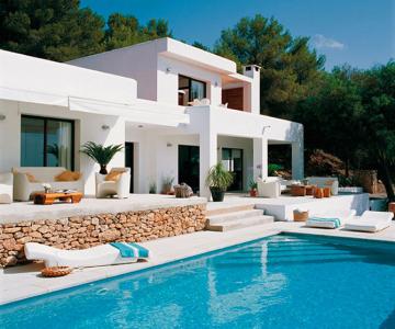 Palatul imaculat de pe coasta spaniola: Blanco de Ibiza