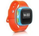 Smartwatch Alcatel CareTime, Ecran OLED 0.95inch, Wi-Fi, 2G, rezistent la apa, dedicat pentru copii (Portocaliu)