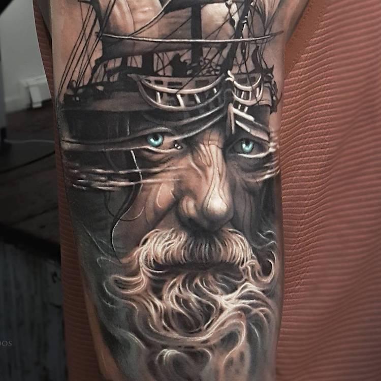 Tatuaje impresionante suprarealiste, de Alro DiCristina - Poza 10