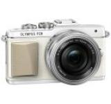 Aparat Foto Mirrorless Olympus E-PL7 (Alb) cu Obiectiv 14-42mm, Filmare Full HD, 16.1MP