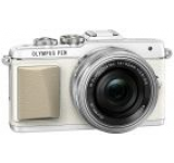 Aparat Foto Mirrorless Olympus E-PL7 (Alb) cu Obiectiv 14-42mm, Filmare Full HD, 16.1MP
