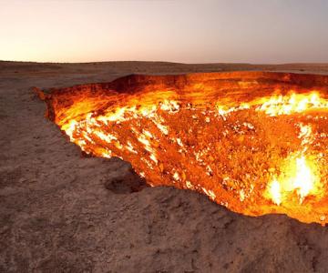 Poarta iadului: Focul viu din Turkmenistan