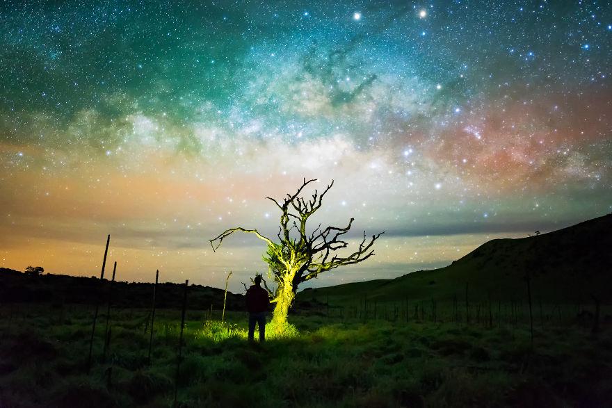 Lumina noptii: Un dans al Caii Lactee, in miezul verii - Poza 15