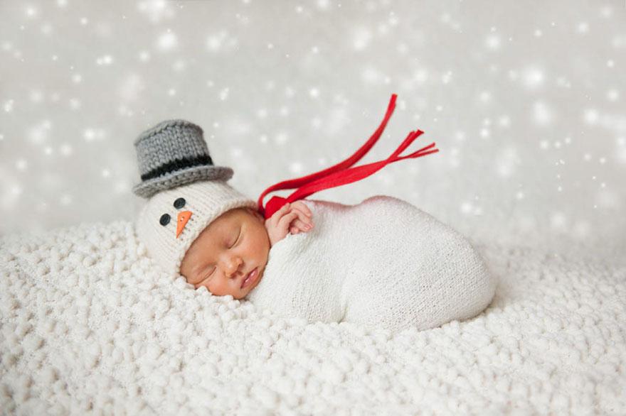15+ Bebelusi adorabili in asteptarea Craciunului - Poza 6