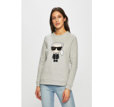 Karl Lagerfeld - Bluza gri 4911-BLD038