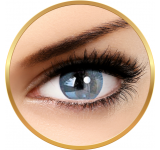 Adore Bi Tone Aqua - lentile de contact colorate albastre trimestriale - 90 purtari (2 lentile/cutie)