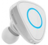 Casca Bluetooth Devia Vortex DVVRTXBTWH, Multi Point, incarcator dedicat auto (Alb)