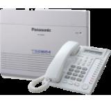 Pachet Centrala telefonica Panasonic KX-TES824 echipata 6/16, extensibila max 8/24, cu 1x Telefon Fix Panasonic KX-T7730 + Cartela Panasonic 3 CO si 8 interioare hibride KX-TE82483CE