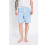Endo - Pantaloni scurti pijama albastru deschis -60-BIM004