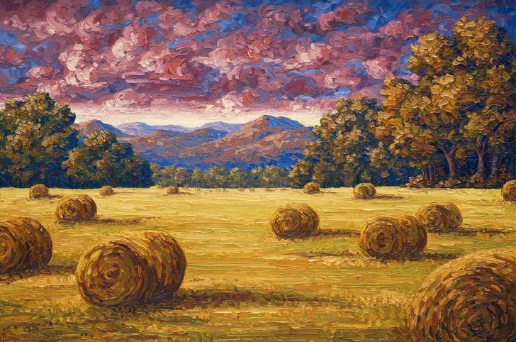 Creatii ale pictorilor amatori demne de a fi expuse in marile muzee - Poza 5