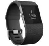 Ceas Fitbit Surge FB501, LCD Monochrom touchscreen, Bluetooth, GPS, Rezistent la apa, Large (Negru)