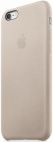 Protectie spate Apple mkxe2zm pentru iPhone 6S Plus (Piele/Gri)