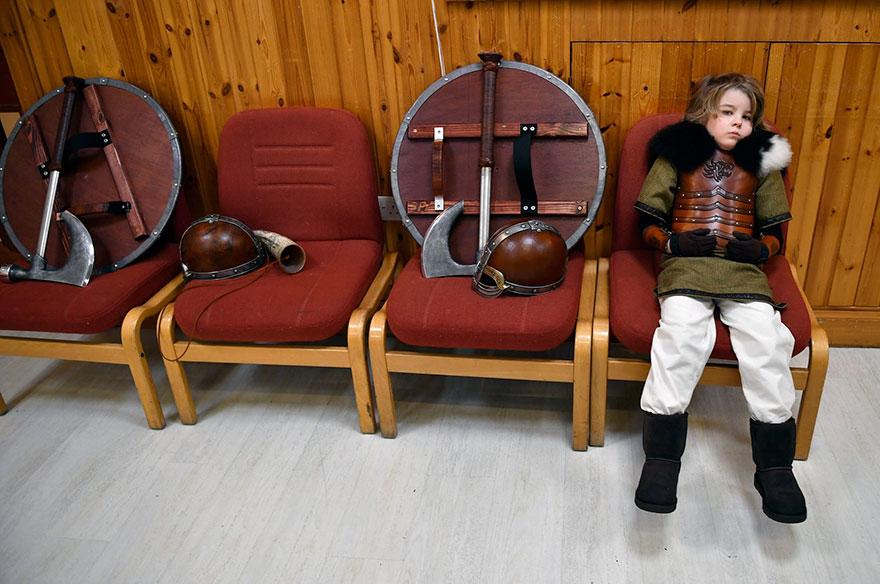 Festivalul legendar al vikingilor, in fotografii epice - Poza 6
