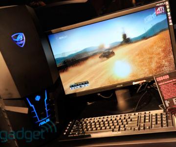 Asus isi prezinta desktopul ROG CG8490