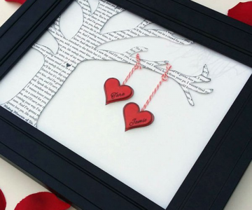 Decoratiuni minunate de Valentine's Day, facute manual