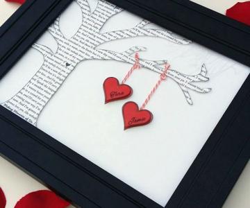 Decoratiuni minunate de Valentine's Day, facute manual