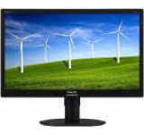 Monitor IPS LED Philips 23inch 231B4QPYCB/00, Full HD (1920 x 1080), DVI-D, DisplayPort, 7ms GTG, Boxe (Negru)