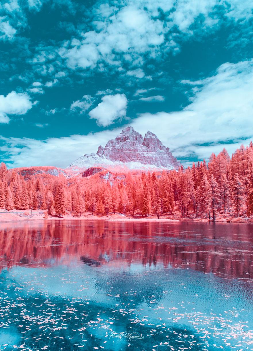 Lumea in infrarosu, intr-un set de fotografii superbe - Poza 1