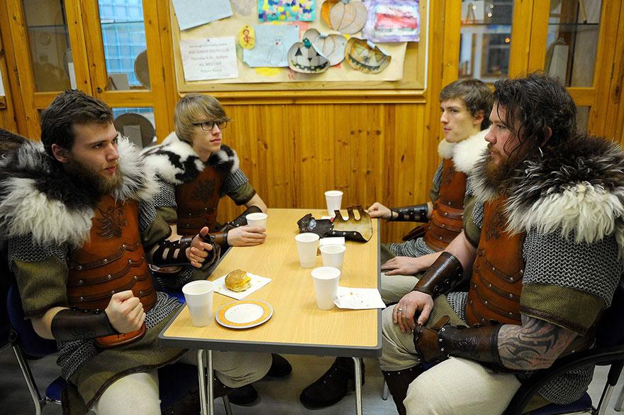 Festivalul legendar al vikingilor, in fotografii epice - Poza 4