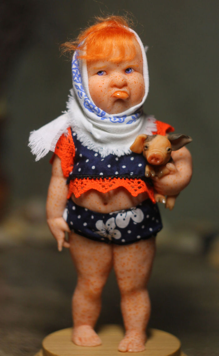 Papusi realiste superbe, de Elena Kirilenko - Poza 7