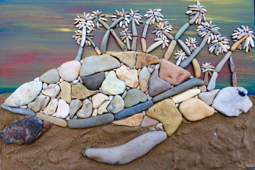 Creatii artistice cu pietre - Poza 8