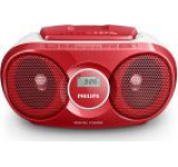 Micro Sistem Philips AZ215R, CD Player (Rosu)