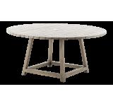 Masa rotunda din lemn de Tec George