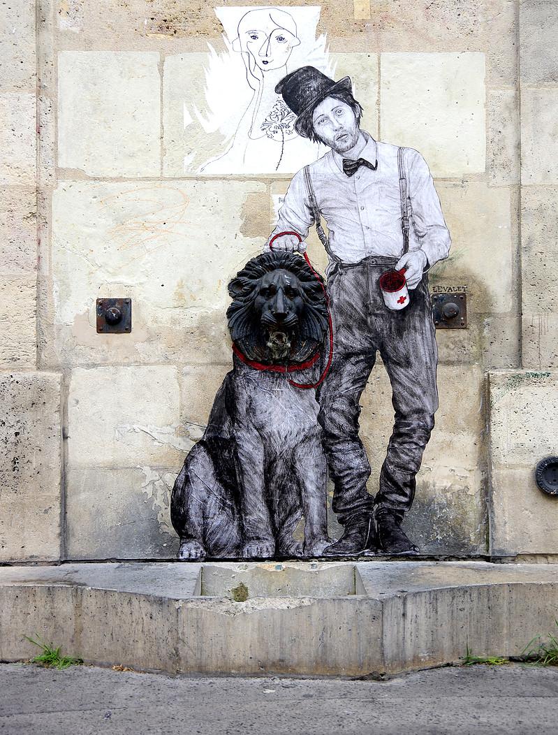 Ilustratii satirice pe strazile Parisului - Poza 2