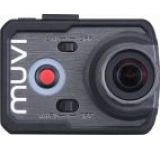 Camera video de actiune Muvi K-1, Full HD, 16 MP, Wi-Fi, Carcasa waterproof optionala, HDMI, Handsfree (Neagra)